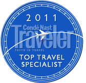 Zach Rabinor Conde Nast Top Travel Specialist 2011